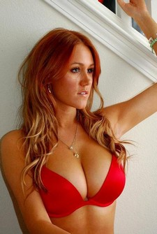 Hot redhair milf big boobs natural boobs hot boobs