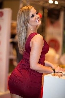 Alexis Texas Looking Beautiful In A Hot Tight Dress