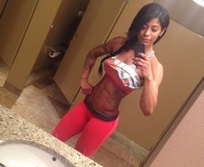 Blackhair nasty slt selfshot her perfect tight fitnes body big boobs and nice ass