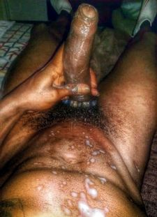 Retro photo of black dick cumming