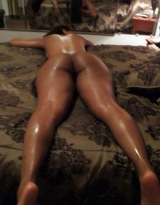 Amateur laying down.
