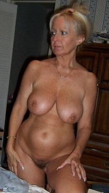 Plump Mature woman.