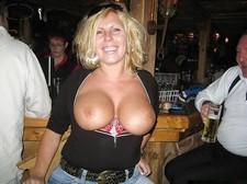 Mature tits.