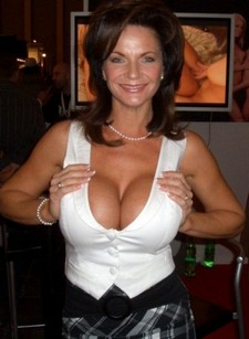 Sexy mature with great chest melons