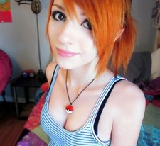 2 great things:Red head and Pokemon.