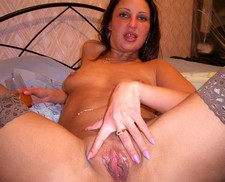 My sweet pink and wet pussy wants hard cocks all the time