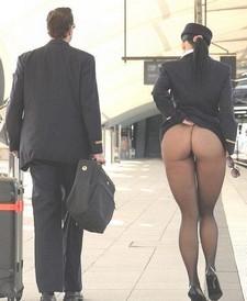 Thats wat I call good stewardess.