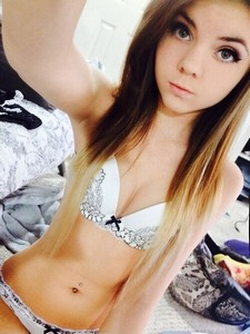 Gorgeous teen Danni Meow.