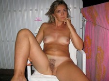 Awesome novice vagina photo with a fabulous blonde boobs.