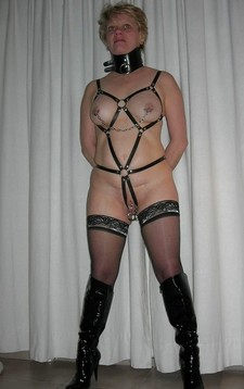 Amazing novice bondage photo with a sexy mother.