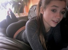 Hot novice pic with gorgeous teen (18+) amateur.