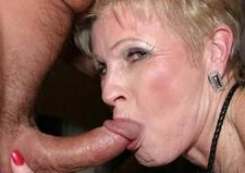 These granny love suck dick